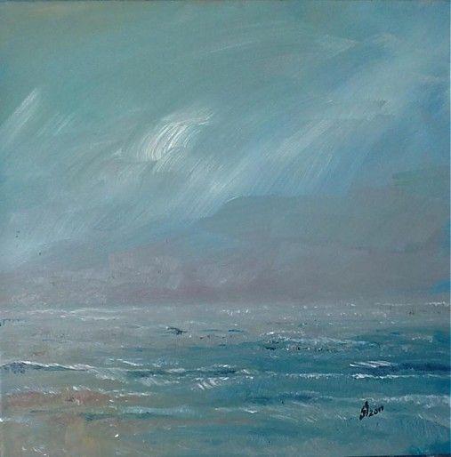 """""""Pred dazdom"""" oil on canvas"""