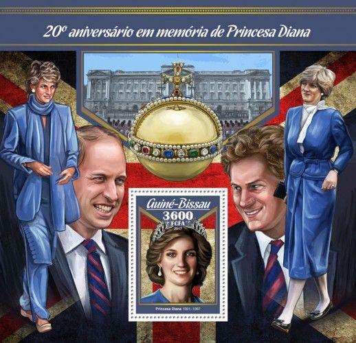 GB17002b 20th memorial anniversary of Princess Diana (Princess Diana (1961–1997))