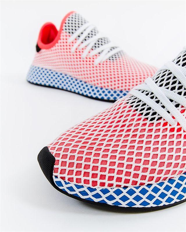 adidas Originals Deerupt Runner - CQ2624 - Röd - Footish  If you re ... a842e1977