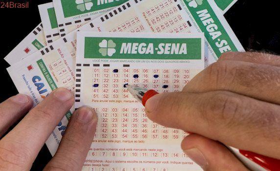 Confira dezenas: Mega-sena acumula de novo e prêmio vai a R$ 23 milhões