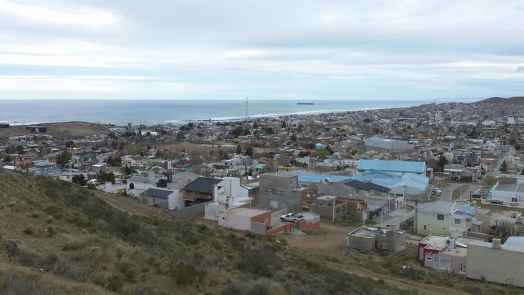 Vista Panoramica de Ciudad Caleta Olivia