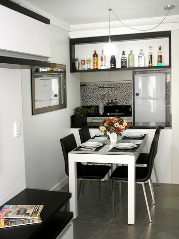 Apartamentos pequenos: 320 projetos de profissionais de CasaPRO - Casa garrafas