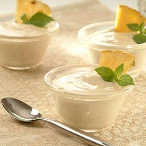 Mousse d'ananas au thermomix. Je vous propose une recette de Mousse d'ananas, facile et rapide a réaliser à l'aide de votre thermomix.