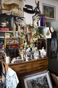 """Mark Hearld's home and studio featured in """"The Art of Acquisition"""", which appeared in the November 2012 issue of Country Living"""