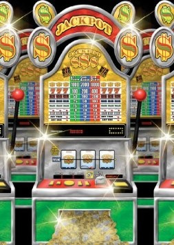 Amazon.com: Casino Slot Machines Room Roll: Toys & Games