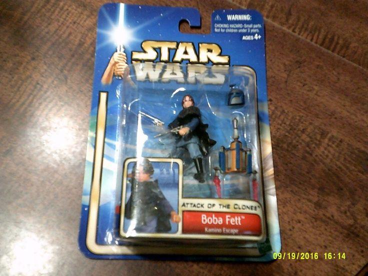 Star Wars Boba Fett Attack of the Clone