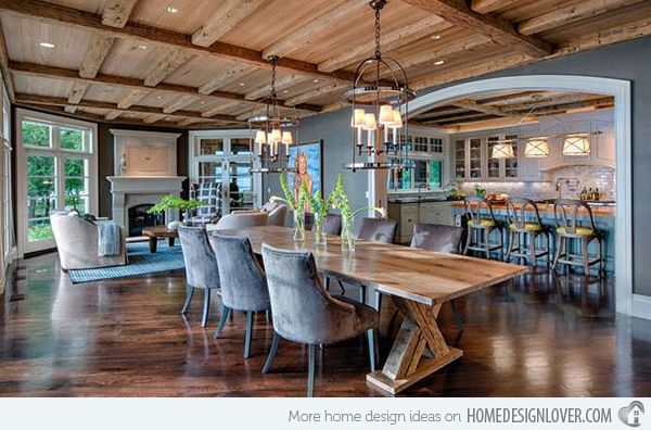 Catch Simplicity and Elegance in 15 Transitional Dining Rooms