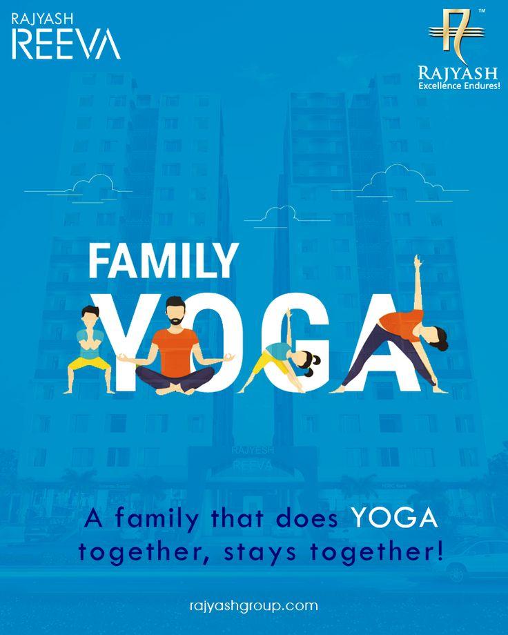 A family that does yoga together, stays together! #InternationalYogaDay #WorldYogaDay #YogaDay #YogaDay2017 #RajYashGroup #Luxury #Lifestyle #RajYash #SouthVasna #Ahmedabad