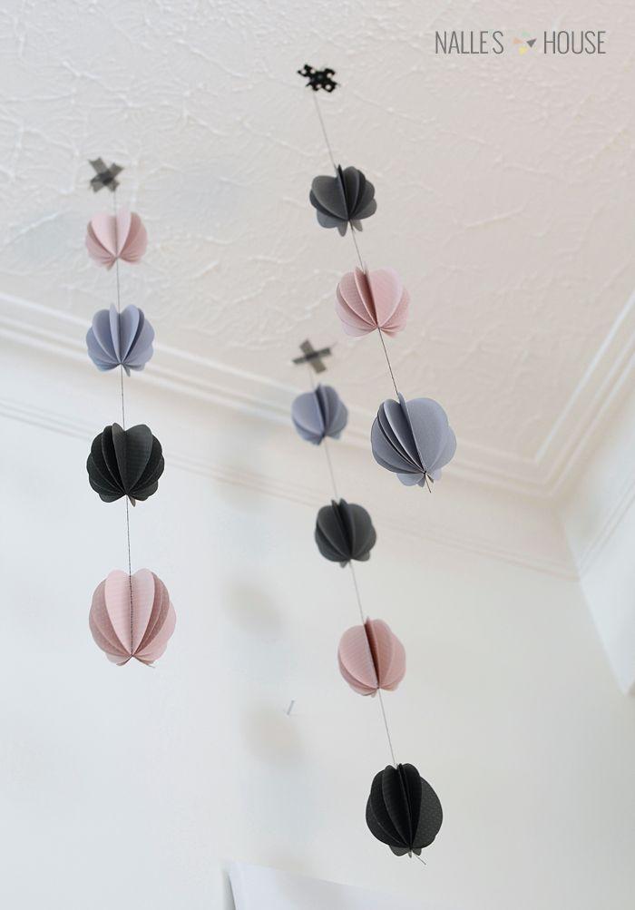 Nalle's House: Modern Easter Egg Garland