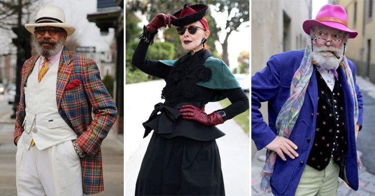 """Si crees que la moda es solo algo hecho para los jóvenes, debes ver a estos adultos mayores y te darás cuenta de lo equivocado que estabas. Ellos son parte de una serie llamada """"Advanced Style : Older and Wiser"""", lo que se traduciría como """"Estilo Avanzado: Mayores y más Sabios""""."""