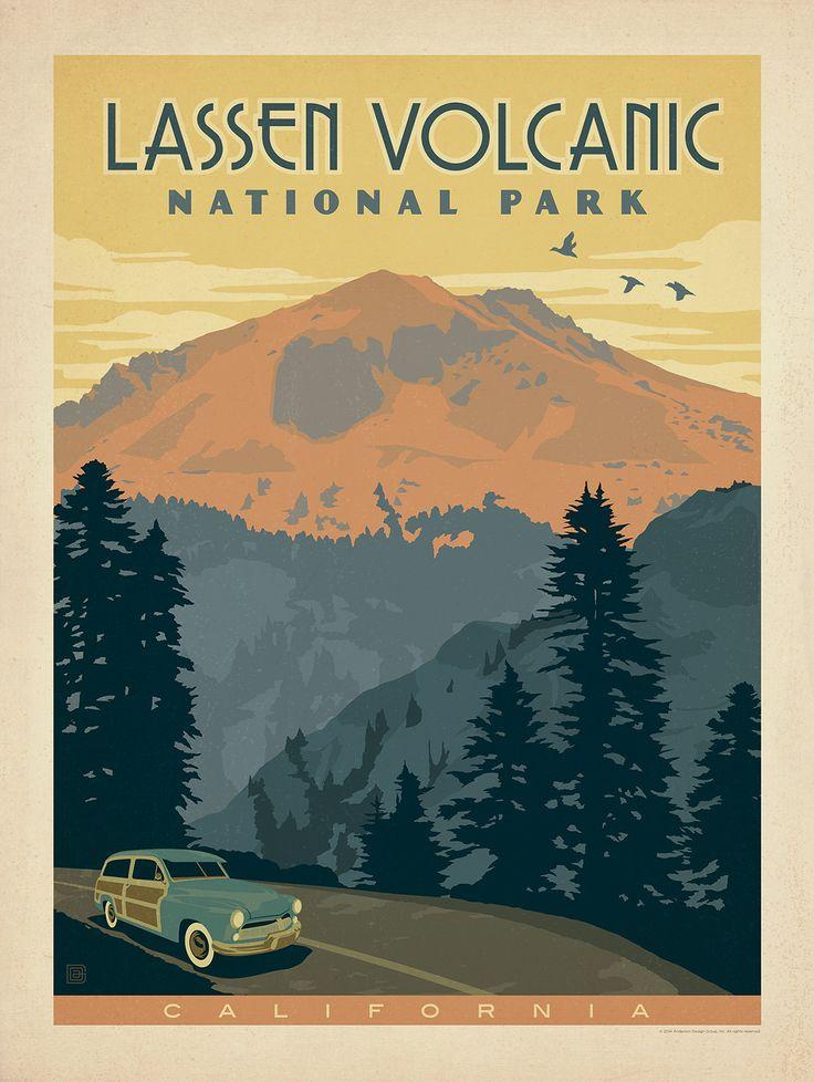 Anderson Design Group Studio, Lassen Volcanic National Park, California