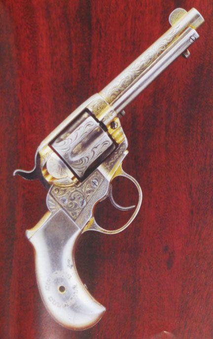 Pat Garrett's Colt 'Lightning' Model 1877 Double Action Revolver
