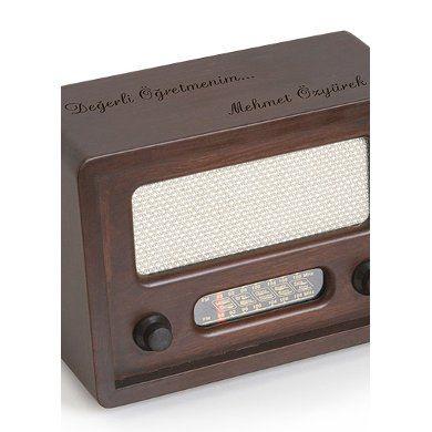 Kişiye Özel Nostaljik Radyo FİYAT 60 TL KARGO DAHİL KAPIDA ÖDEME YAPILABİLİR. NAKİT YA DA KREDİ KARTI İLE ÖDME YAPILABİLİR.