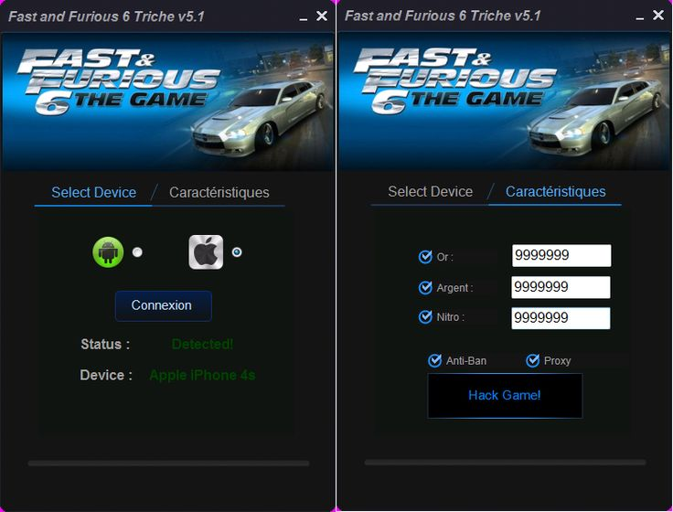 Fast and Furious 6 Triche Francais sur Android/iOS http://trichesgratuit.fr/fast-furious-6-triche-et-astuce-mise-jour-2015/