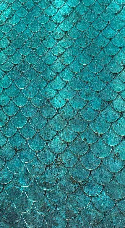 Mermaid scale wallpaper