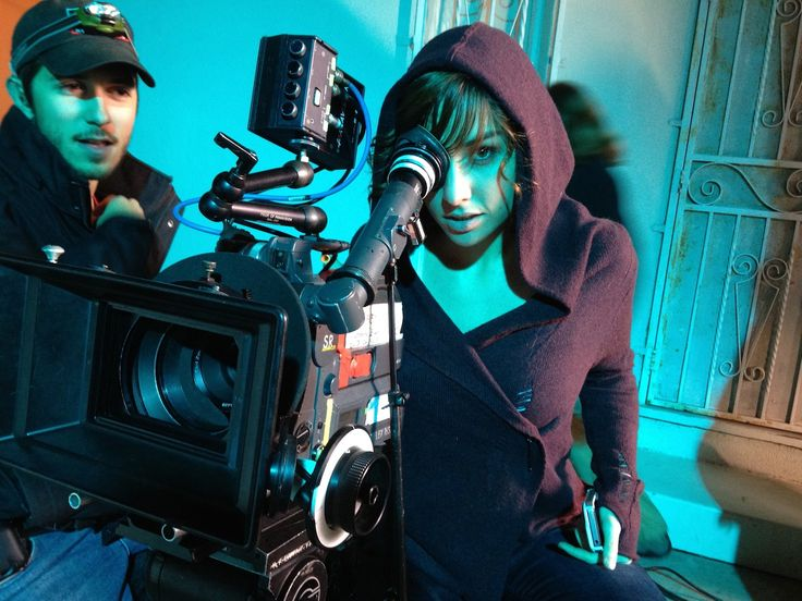 Allison Scagliotti tries her hand behind the camera.