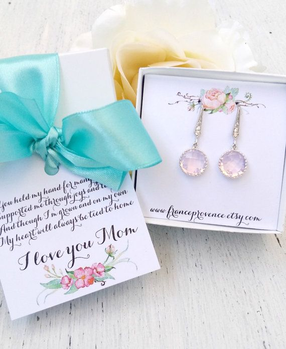 Mother Of The Bride Gift Gift Boxed Jewelry Mother of The Bride jewelry Mother of The Bride Earrings Thank You Gift Gift boxed jewelry by FranceProvence #TrendingEtsy