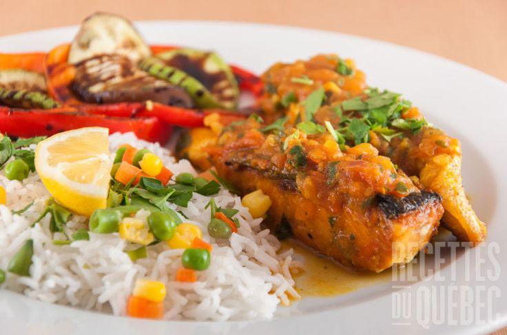 Filet de truite thaïlandais #recettesduqc #souper #poisson