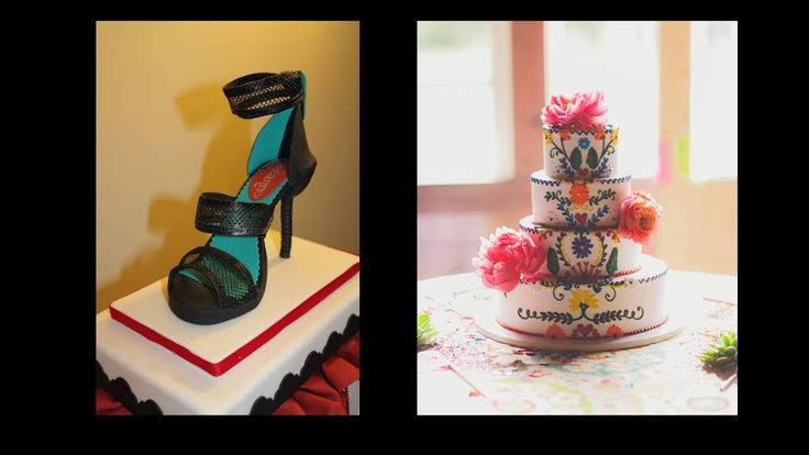 #amazing #sandals #colorful #cake #design