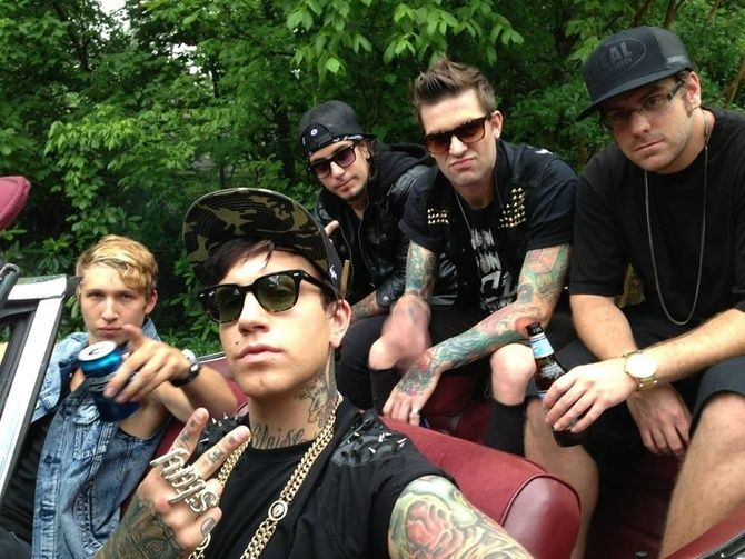 Attila Band 2013 | Attila Just Upped the Awful Metalcore Rap Game, Yo