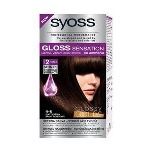 Syoss Professional Gloss Sensation 4-6 Golden Chestnut Hair Color
