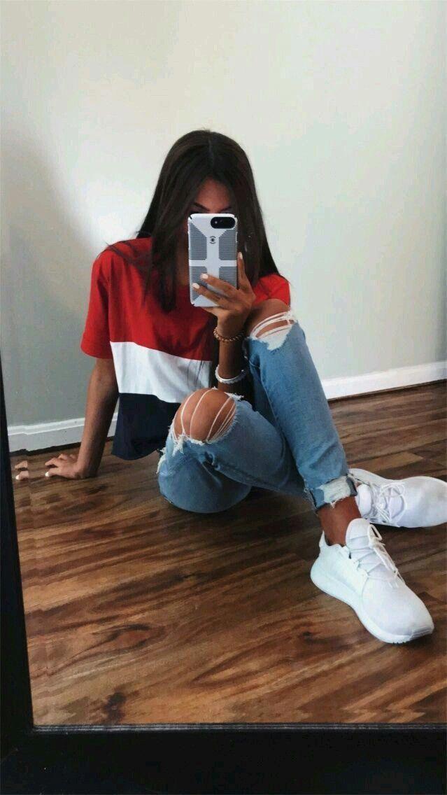 Teen School Girl Strumpf