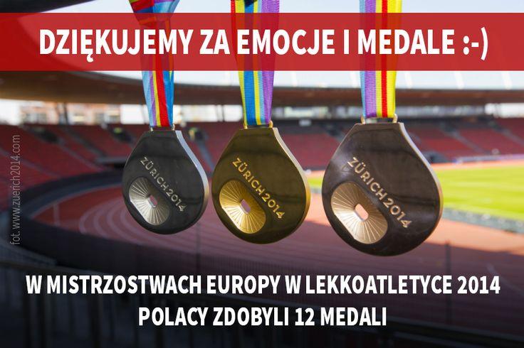 Dla takich chwil sportowcy trenują, dla takich chwil oglądamy ich zmagania - z Mistrzostw Europy nasi lekkoatleci przywożą aż 12 medali! Gratulujemy!