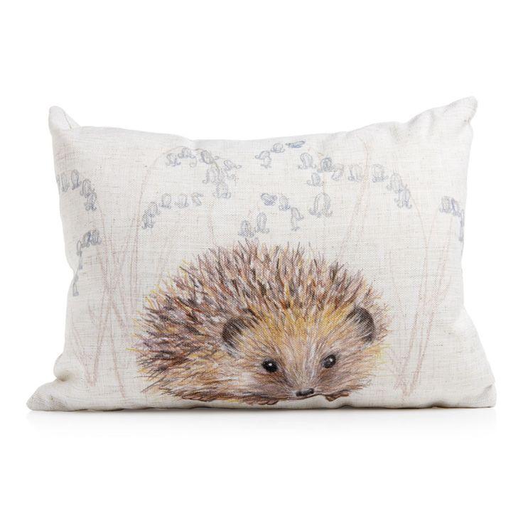 Wilko Hedgehog Cushion 43x33cm