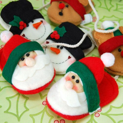 Christmas Slipper Ornaments