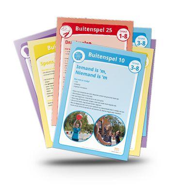 Buitenspeelkaarten - De beste spelsuggesties voor op het plein!