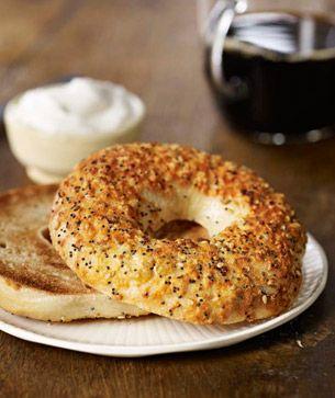 Mmmm, a New York bagel for breakfast! #ArmitronMakeTime