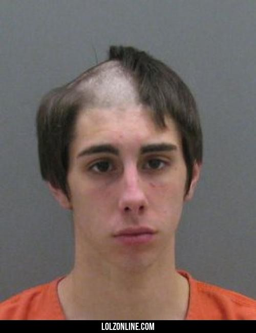 This is what happens when you commit a crime, then get arrested while shaving your head in an attempt to change your appearance#funny #lol #lolzonline