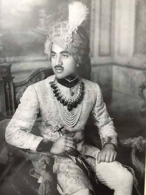 HIS HIGHNESS MAHARAJA SHRI BHANUPRAKASH SINGH JI DEV BAHADUR -PRESENT MAHARAJA SAHIB OF NARSINGH GARH By Rohit Sonkiya