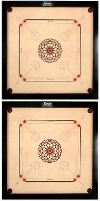 Other Indoor Games 36278: Surco Ellora Carrom Board With Coins And Striker, 8Mm Full Size -> BUY IT NOW ONLY: $115.37 on eBay!