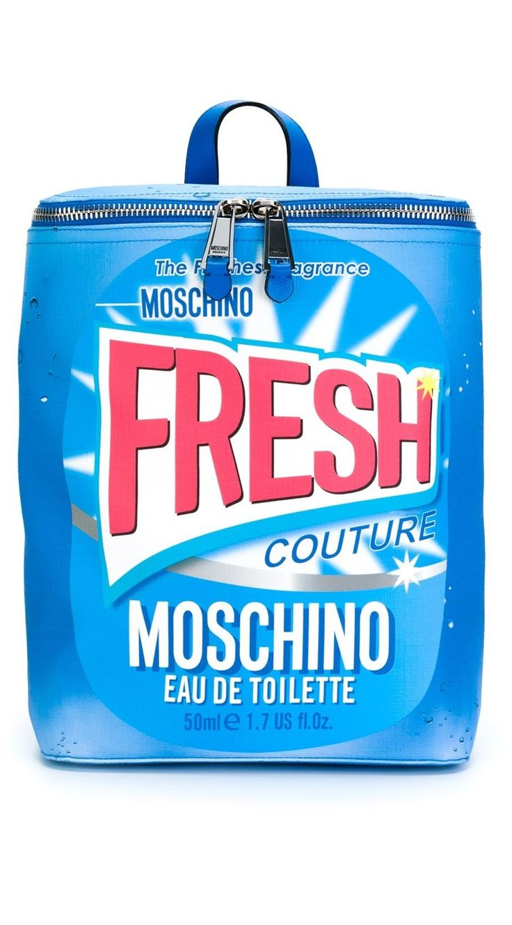Moschino Fresh Couture Fragrance Backpack