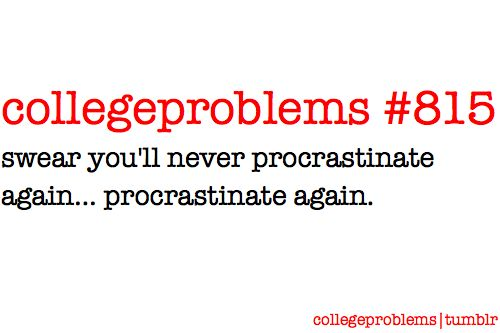 This does not only apply to college...