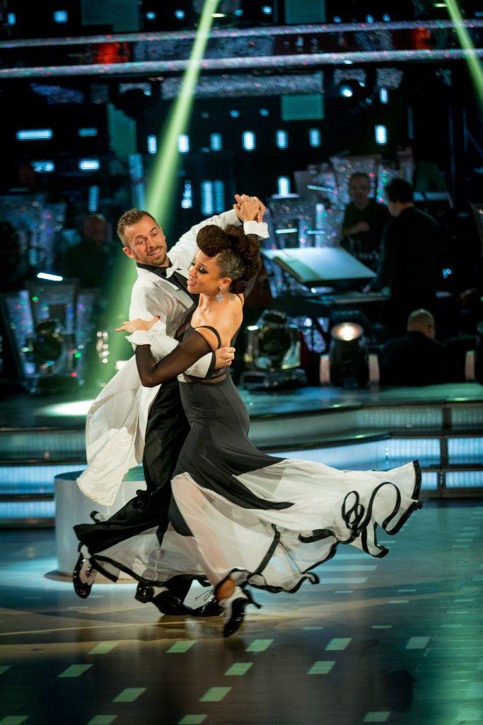 Natalie Gumede and Artem Chigvinstev - Strictly Come Dancing 2013 - Week 4