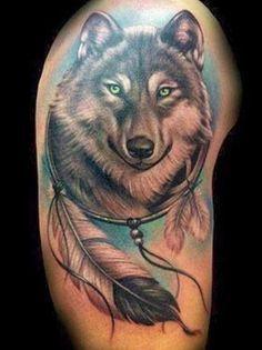 Fotos de tatuagem de lobo                                                                                                                                                                                 Mais