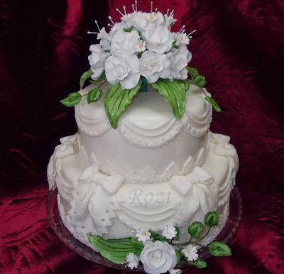Rozi Erdélyi konyhája: Esküvői torta