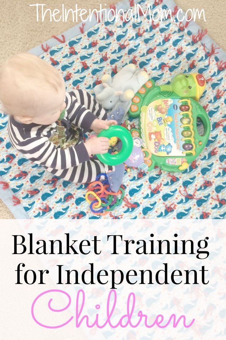 Wondering how to keep your littles entertained while learning some independence? Blanket training is just what you need to buy you some time for yourself while your little ones are busy. Fun for them, and so NEEDED for YOU!