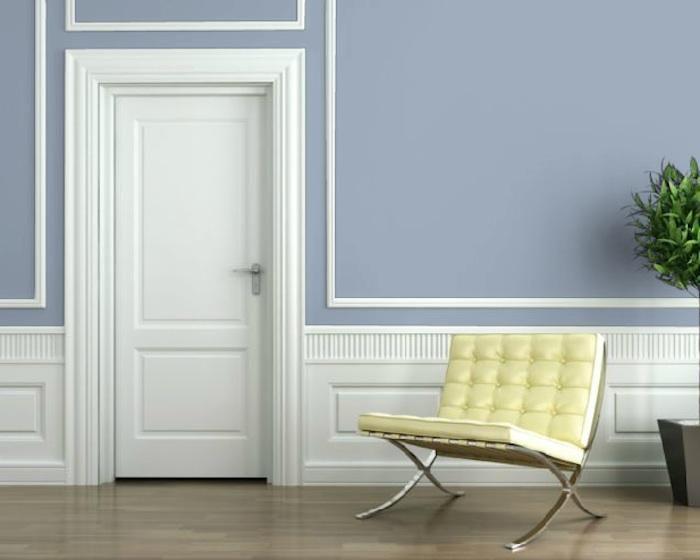 Colors For Hallways sherwin-williams hallways aleutian blue remodelista | interiors