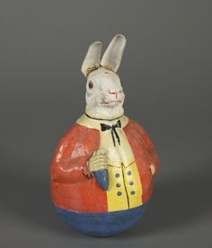 Western Germany Rolly Poly Vintage Clown Toy by MelangePodStudios ...