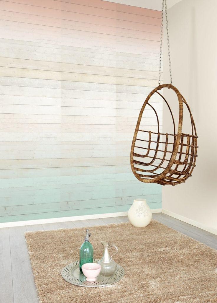 9x zomers behang in huis