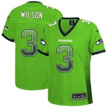 package mail cheap jerseysnike seattle seahawks 3 russell wilson elite green drift