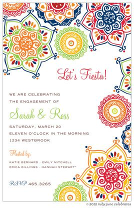 mexican party invitations - Buscar con Google