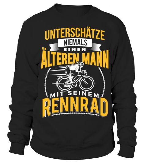 # Fahrrad fahren Rennrad älteren Mann .  Unterschätze niemals einen älteren Mann mit seinem Rennrad - Du liebst Fahrrad fahren und besitzt mindestens ein Rennrad? Dann ist dieses Fahrrad / Rennrad Design für dich.straßenrad, schlechtes, bike, radfahren, radeln, Räder, Rennradfahrer, Rennrad, Radfahrer, Rad, Mountainbiking, Mountainbiker, Mountainbiken, Mountainbike, Fahrräder, Fahrradkurier, Fahrradfahrer, Fahrradfahren, Fahrrad, Das, Leben, ist, gut, Bike, Bicycle