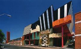 Athan House. Architects: Edmond & Corrigan. Completed: 1988