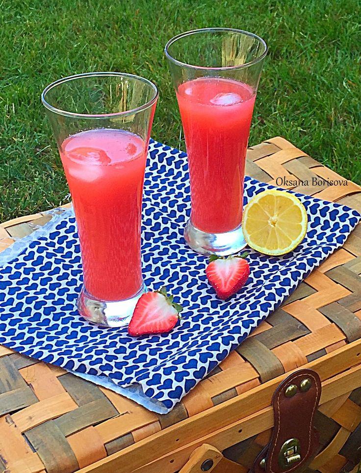 Кулинарные моменты: Клубничный лимонад