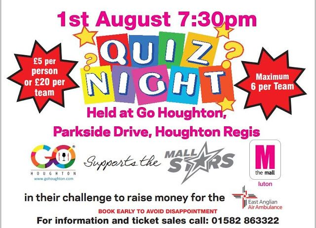 Whats On in Houghton Regis. HRND Event News: Latest Events For Houghton Regis