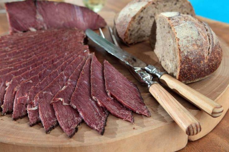 Spicy beef, carne curada no sal grosso e especiarias